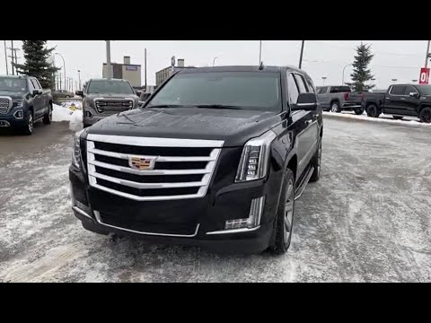 Black 2019 Cadillac Escalade ESV BASE Review   - Western GMC Buick