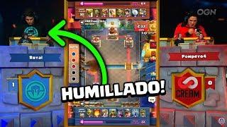 POMPEYO HACE HISTORIA HUMILLANDO A TODOS EN LA CRL WEST ! ! - DrekzeNN - Clash Royale