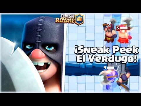 ¡¡ EL VERDUGO, LA NUEVA CARTA EN ACCION, COMBOS Y PARTIDAS !! | Sneak Peek - Clash Royale [WithZack]