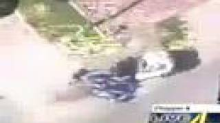 crazy car chase caught on tape
