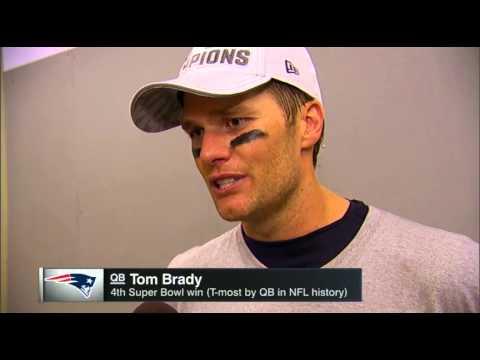 Tom Brady Interview After Winning Super Bowl XLIX