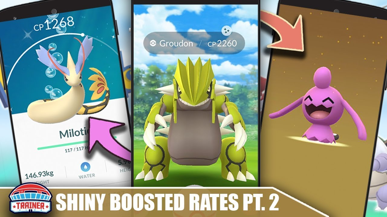 SHINY POKEMON ODDS ARE HIGHEST FOR  ? SHINY RATES FOR RAIDS, EGG HATCHES,  CD & RESEARCH | POKEMON GO
