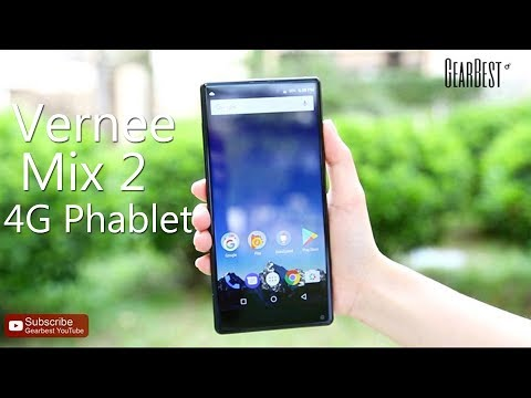 Vernee Mix 2 4G Phablet - Gearbest.com