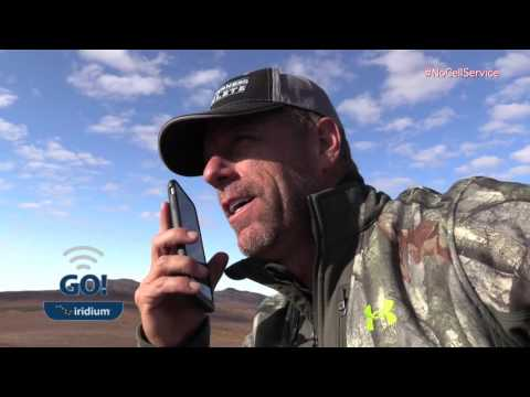 Professional Hunter Spook Spann on the Iridium GO! Hotspot