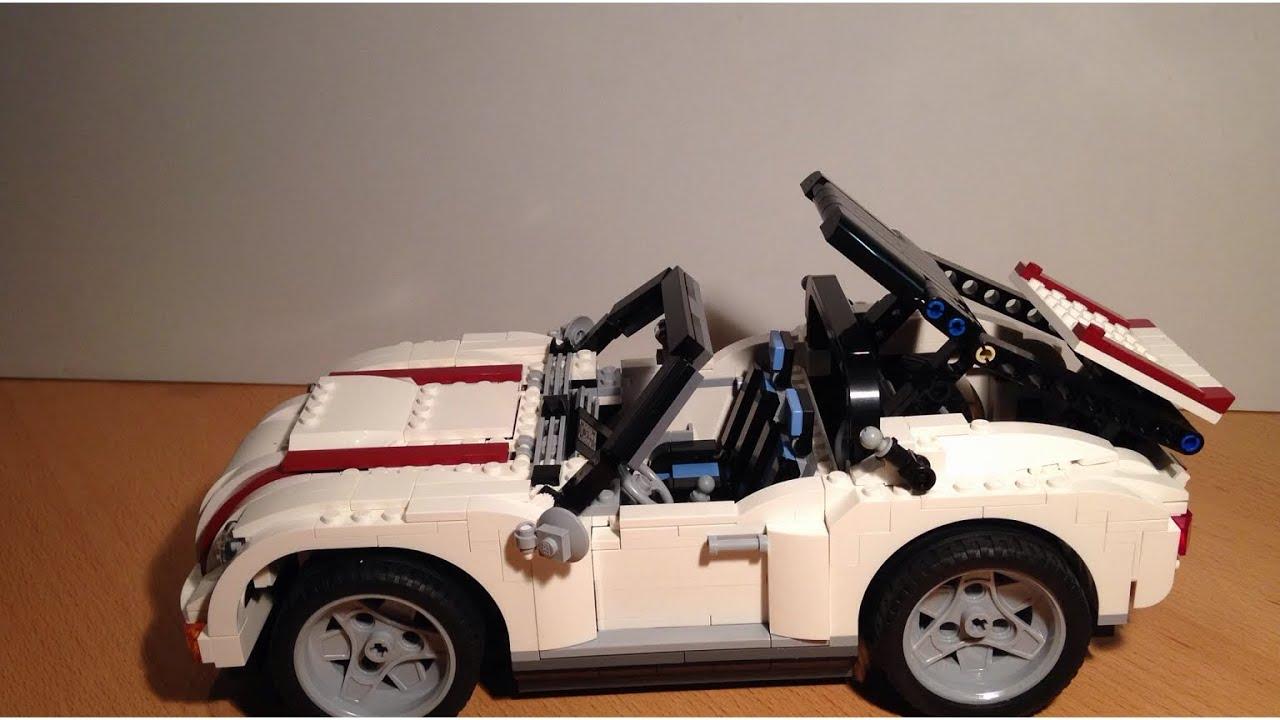 Lego 4993 Cool Convertible Cabrio Stop Motion