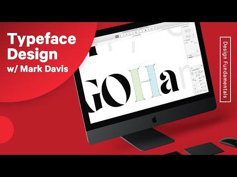 Typeface Design & Font Making Process w/Mark Davis