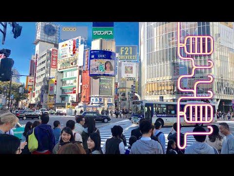 TOKYO SHIBUYA SCRAMBLE 🇯🇵 Largest Crossing in Japan ++ Digital Nomads Travel Guide Update