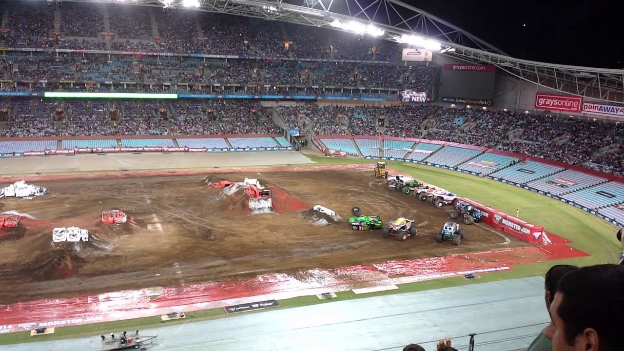 monster jam sydney pitpass gurmit - photo#13