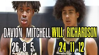 Davion Mitchell and Will Richardson Go Off On Thomson Full Highlights