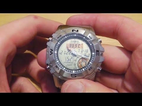 Часы Casio AMW-704D Охотничьи - обзор и мнение