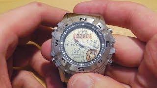 Часы Casio AMW-704D Охотничьи(Часы Casio AMW-704D-7AV. Часы, ориентируясь на лунную фазу, показывают на сколько удачна будет охота (рыбалка) в опре..., 2014-02-25T05:00:00.000Z)