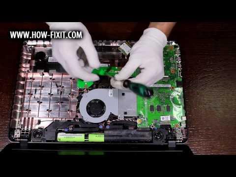 Обзор и вскрытие Asus VivoBook Max X541SA (Серия Asus X541)