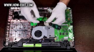 Обзор и вскрытие Asus VivoBook Max X541SA-XO026D (Серия Asus X541)