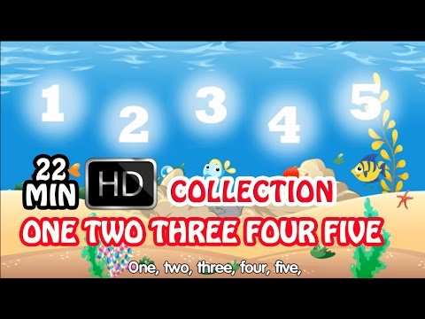 One Two Three Four Five Mix 2017 | Nursery Rhymes Collection and Baby Songs from Beebo World