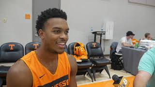 Josiah-Jordan James - Vols G (2019 Media Day)
