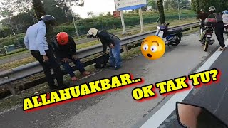 ACCIDENT DI PAGI HARI | Y15ZR V2
