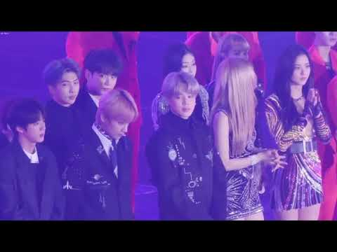 BTS and BLACKPINK reaction to TWICE