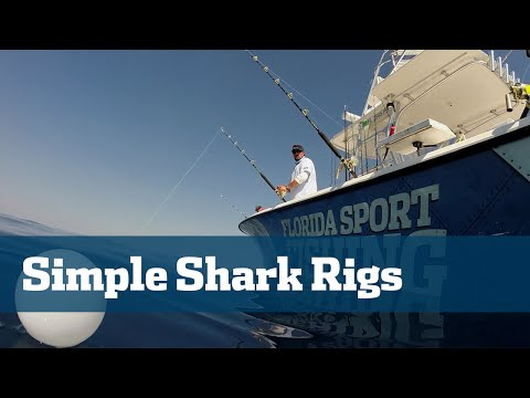 Shark Fishing Best Shark Tackle Rods Reels Line Rigs - Florida Sport Fishing TV Rigging Station
