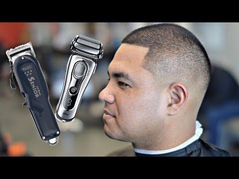 Barber Tutorial: Wahl Cordless Senior & Braun Series 9