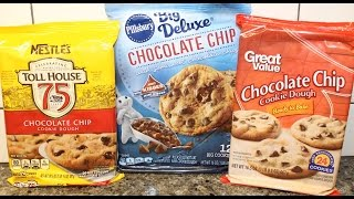 Nestle's Toll House, Pillsbury Big Deluxe & Great Value: Chocolate Chip Cookie Blind Taste Test