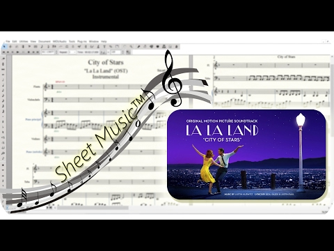 City of Stars - La La Land (OST) | Sheet Music™ - FREE MIDI & SCORE