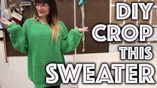 How to Hem A Sweater | Sew Anastasia