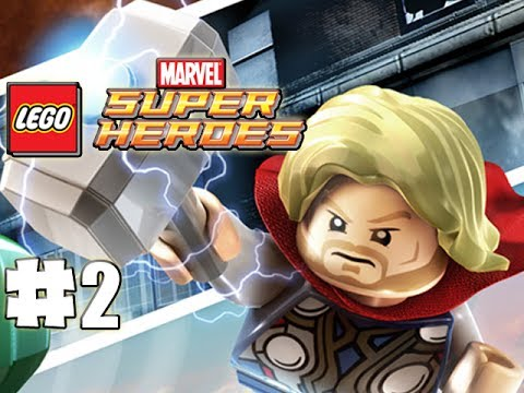 LEGO Marvel Superheroes - 100% Guide - Level 2 - Times Square Off (HD Gameplay Walkthrough)