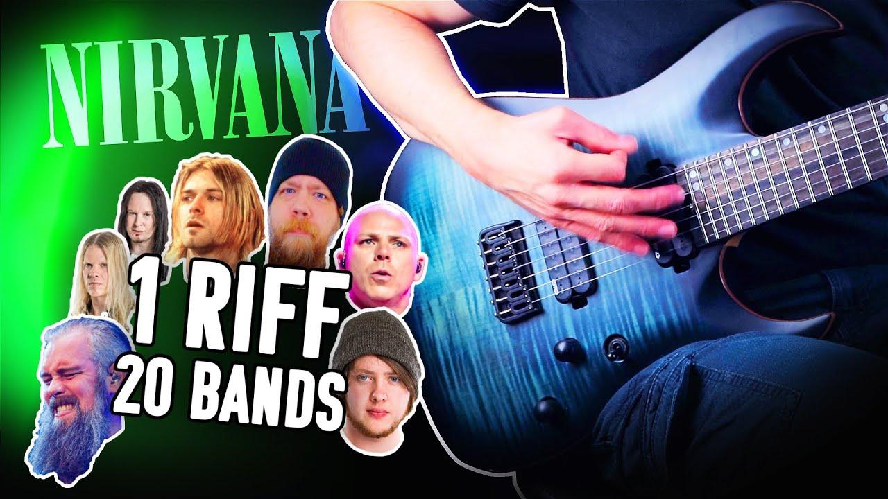 1 Riff 20 Bands - Smells Like Teen Spirit!
