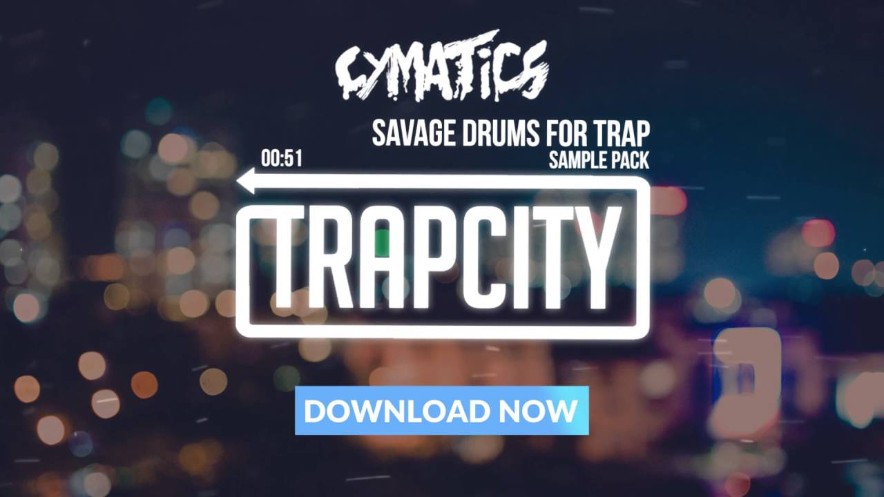 Cymatics - Savage Drums for Trap Sample Pack - YouTube