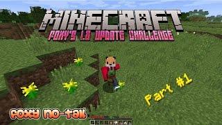 Foxy's Minecraft 1.8 Update Challenge [1] - The Challenge Begins