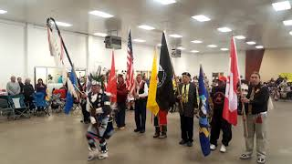 STRONG SPIRITS POW WOW -  Presentation of Colors - Start of Pow Wow