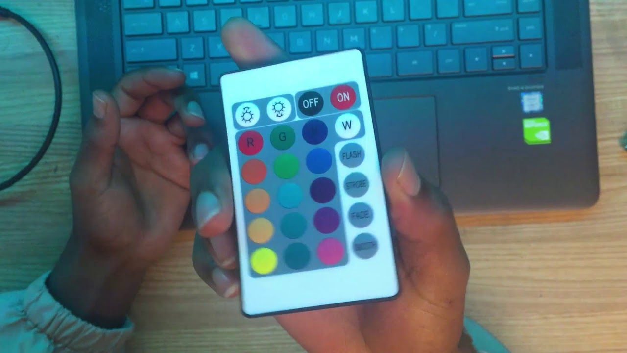 How to fix led strip light remote (very simple)