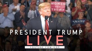 LIVE: President Trump in Bossier City, LA