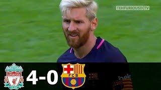 🔥 Ливерпуль - Барселона 4-0 - Обзор Матча Международного Кубка Чемпионов 06/08/2016 HD 🔥