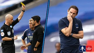 MANAGER CAM | Touchline Reactions from Arteta \u0026 Lampard in Tense Final | Arsenal 2-1 Chelsea