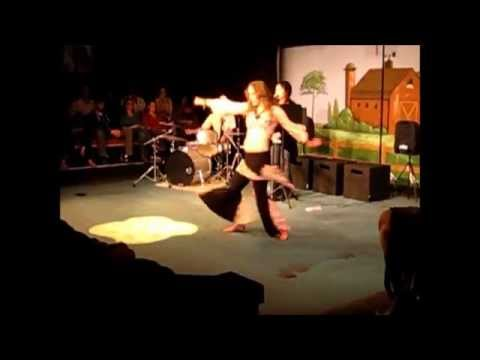 Chloe Fox Belly Dance at The Jewel Box Theater with Rhonavision & the 11th Hour Orchestra