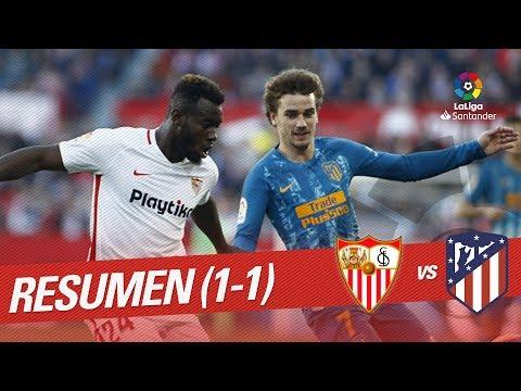 Resumen de Sevilla FC vs Atlético de Madrid (1-1) Mp3