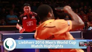 2016 men s world cup highlights i aruna quadri vs gao ning qual