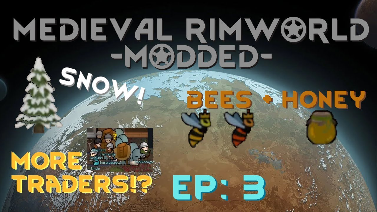 Download Trading Party & Beekeeping, But Winter Is Coming! -  [Ep:3] Medieval Rimworld - Modded