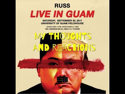 Russ is coming to Guam! Reactions!