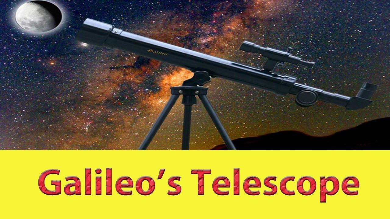 Galileo s telescope youtube