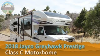 RV Rental Reviews 2018 Jayco Greyhawk Prestige Class C Motorhome Hire