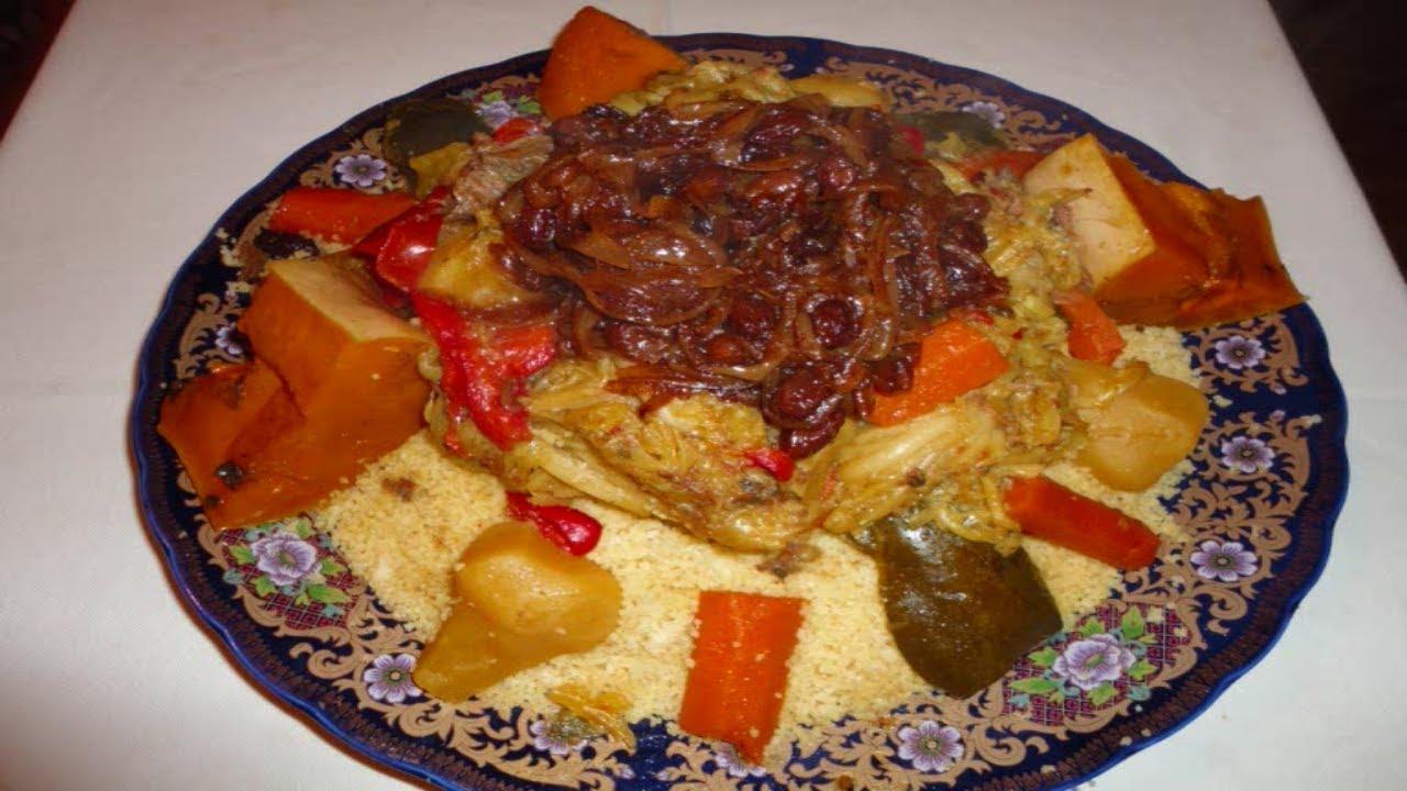 Cocina Arabe C Cocina | El Arte De La Cocina Arabe Cuscus Con Carne Verduras Y Cebolla