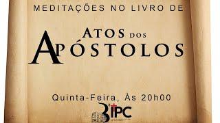 """Estudo Bíblico 06/05/2021 - Tema: """"Coragem na hora da batalha"""" At. 5: 17- 32"""""""