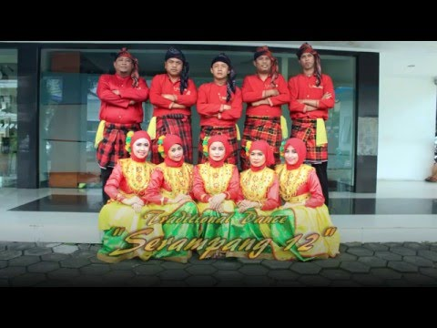 Tari Serampang Dua Belas @ Bank AZN Makassar