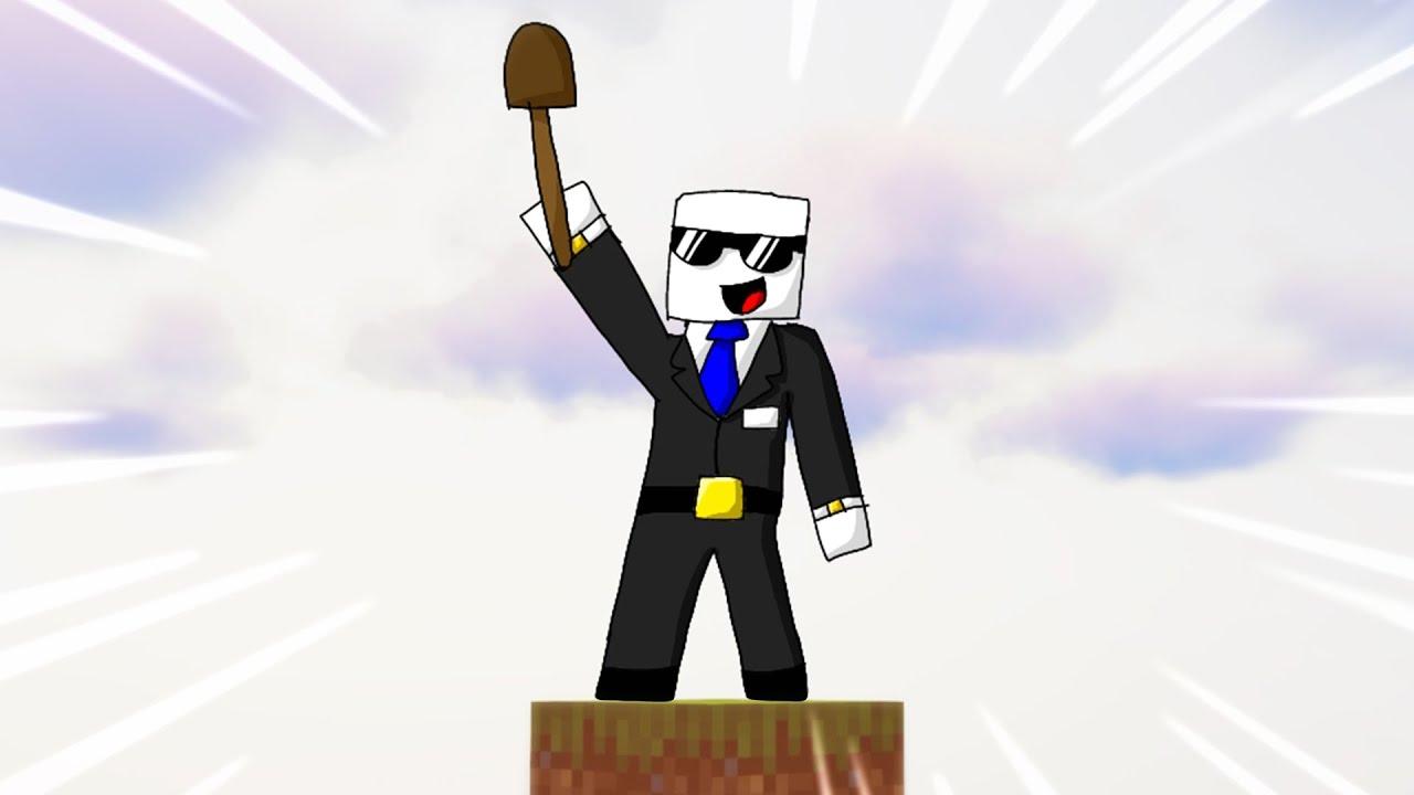 Minecraft, Bet Turiu Tik Vieną BLOKĄ