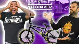 Surprising My Friend With A New BMX Bike!