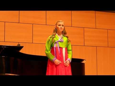If I Leave (나 가거든) - Jo Sumi (Lindsay Fijalkowski's Senior Recital Part 6)