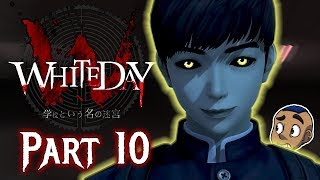 MAN IN THE MIRROR | White Day: A Labyrinth Named School REMAKE — Part 10 | Horror Gameplay PS4 / PC