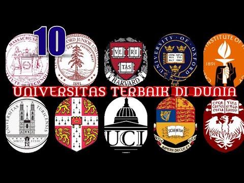 10 Universitas Terbaik Di Dunia Adakah Dari Asia Youtube